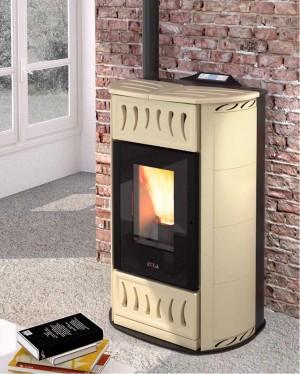 loto hr 10 41 kw pelletkachel thermotrade. Black Bedroom Furniture Sets. Home Design Ideas